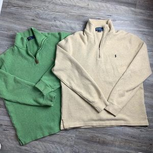 Polo By Ralph Lauren Bundle of 2 Pullover Sweaters